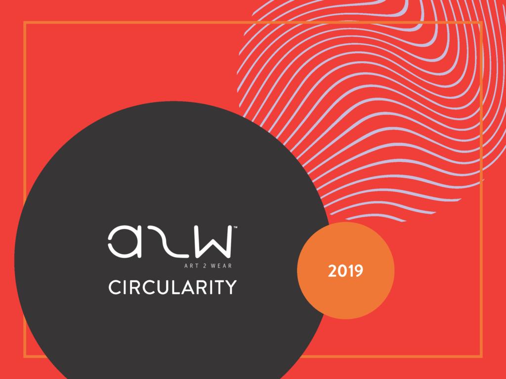 Art2Wear booklet cover 2019: Circularity