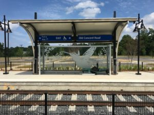 Old Concord Rd. Light Rail Station