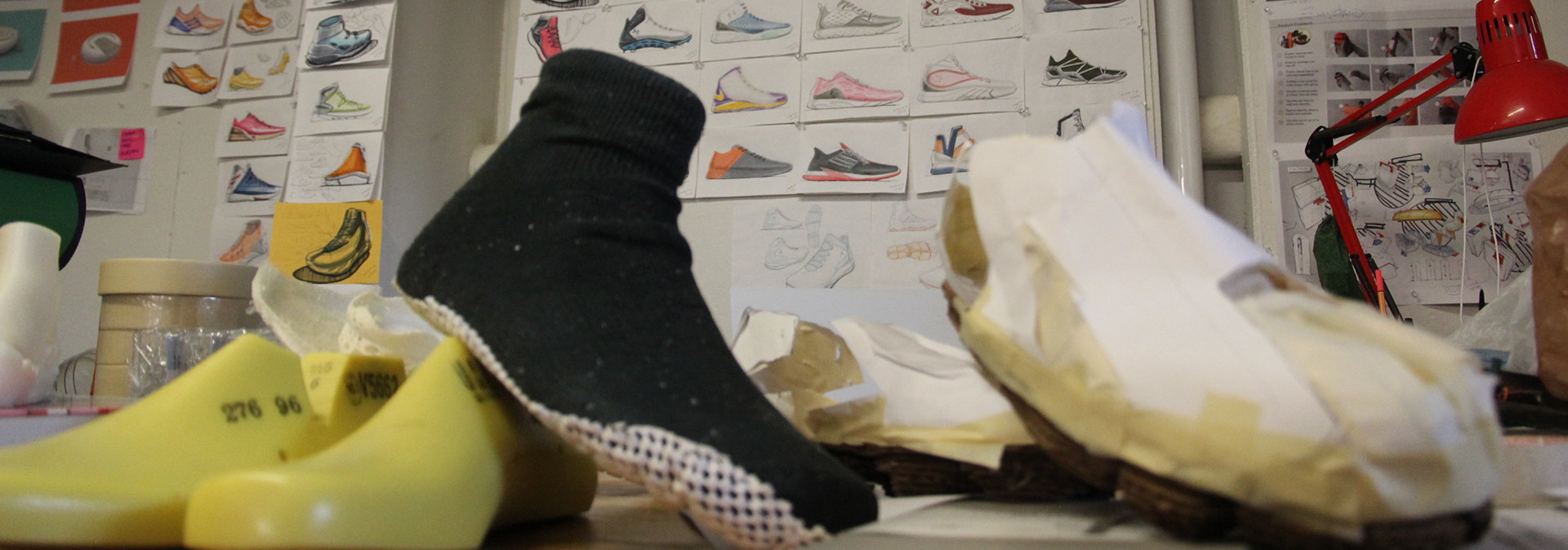 sneakers from industrial design class