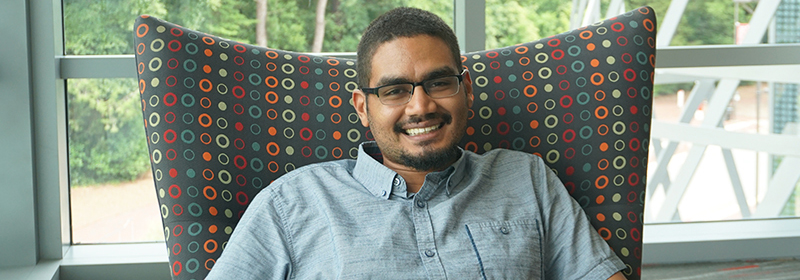 AJ Polanco is the first person in his cohort to successfully complete the academic requirements of the Doctor of Design (DDes) program.
