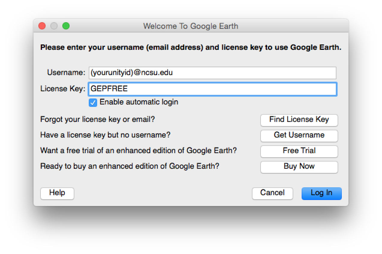 google earth pro license keygen