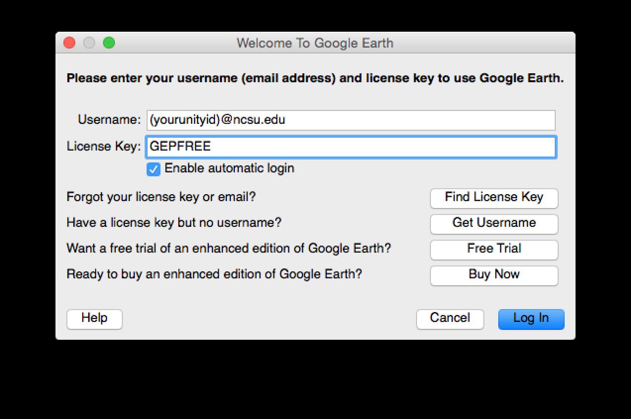 google earth pro free license key
