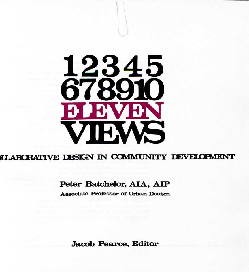 Volume 20: Eleven Views (1973)