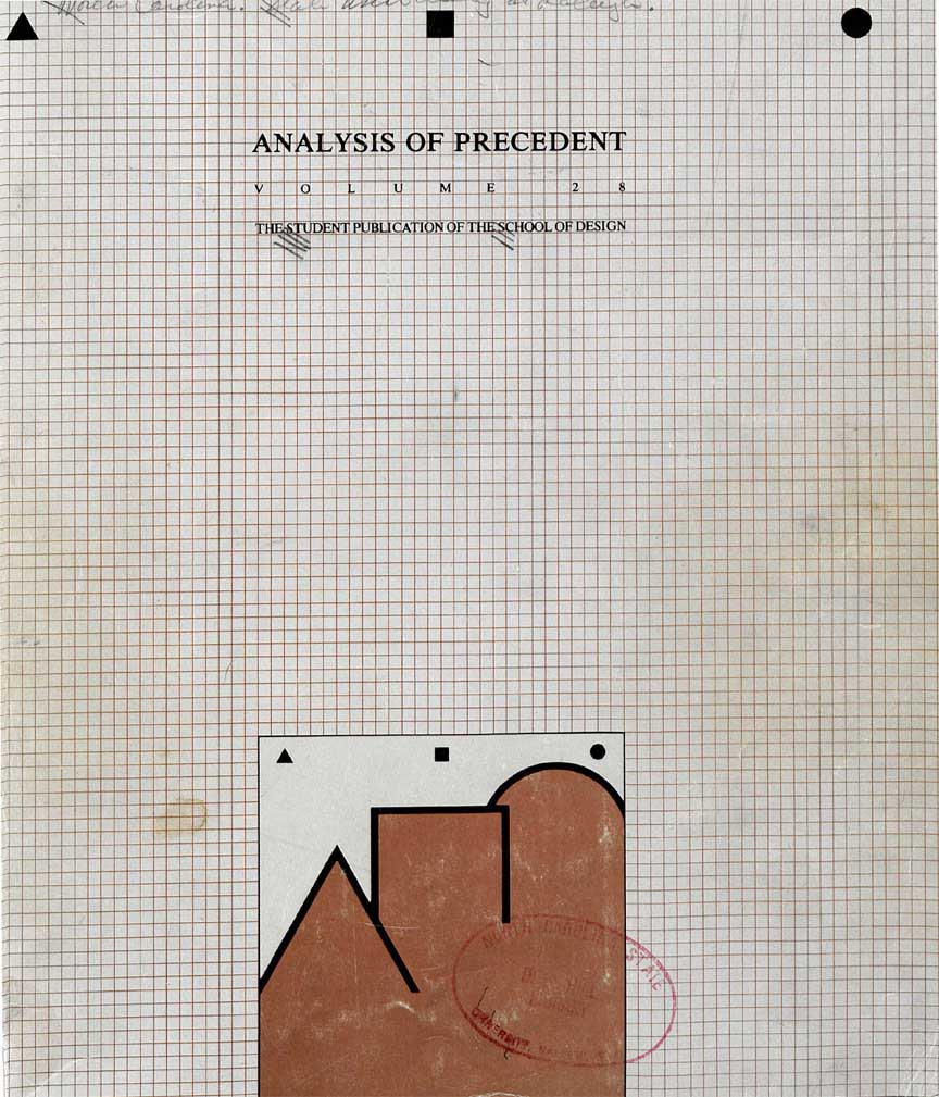 Volume 28: Analysis of Precedent (1979)