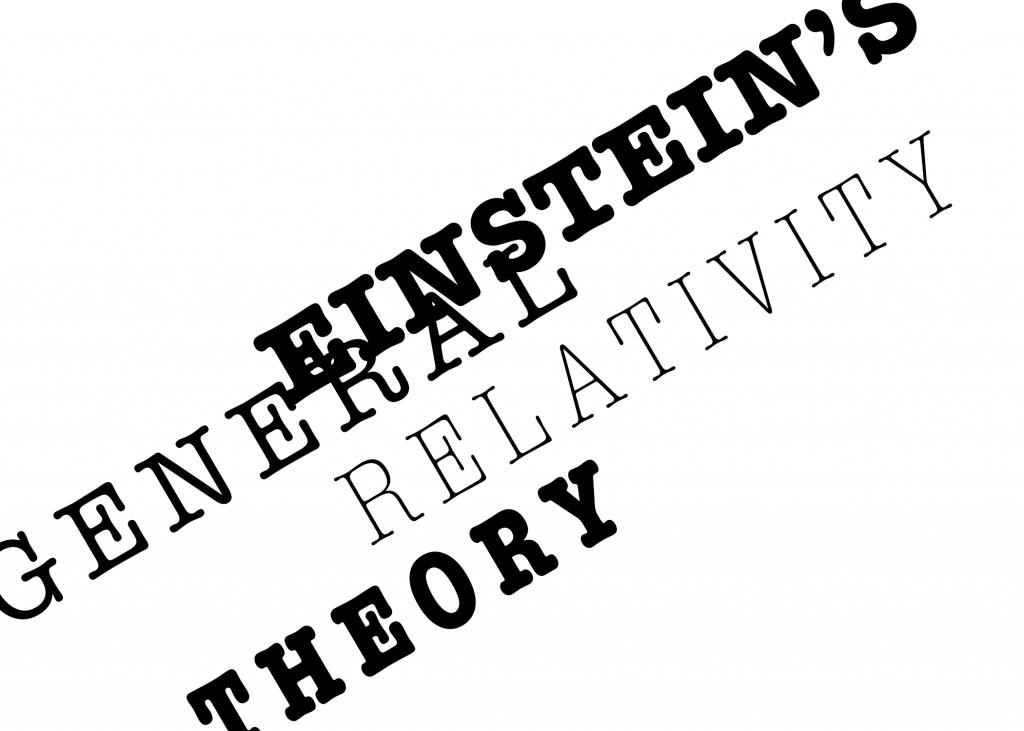 einstein theory of relativity pdf